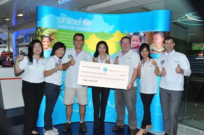Unicef Check Out for Children 2013