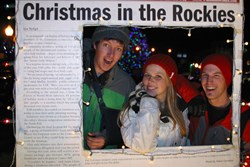 Night of Lights in Gunnison, photo by Gunnison Country Times