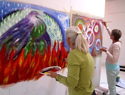 Paint Big, Live Big! Intuitive Painting with Julie Claire