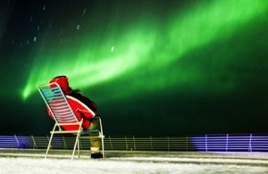 There's no better place to see the Northern Lights than aboard one of Hurtigruten's 11 beautiful ships