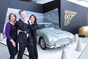 Bond L-R Maree Martin, Marketing Manager of Melb Museum, David Bain Marketing Manager Sofitel Melb & Shirley Lin - low res
