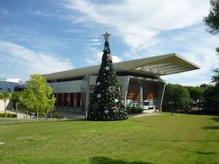 Christmas tree Campbelltown Arts Centre