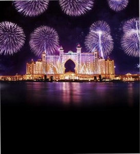Fireworks at Atlantis, The Palm Grand Opening 2008