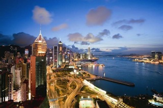 Harbour View of The Excelsior, Hong Kong
