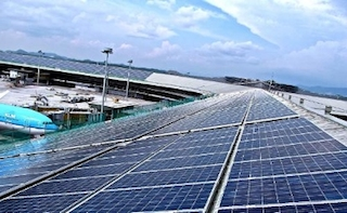 SunEdison and MAHB Announce First Malaysian Solar Installation at KLI. (PRNewsFoto/SunEdison)