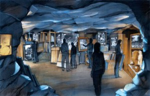 NATIONAL WWII MUSEUM MONUMENTS MEN RENDERING