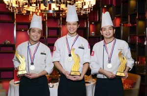 Tao's Trio Chef Wins Golden Award at the International Golden Chef Cooking Competition