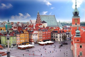 A great city ... The Royal Castle in Warsaw