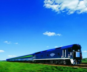 The Overland ... a comfortable journey between Melbourne and Adelaide.