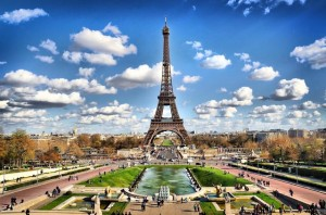 The Eiffel Tower ... one of the world's most photographed sites.