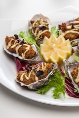 12 - Friday from 5pm Oyster Feast at Hamilton's Steak House