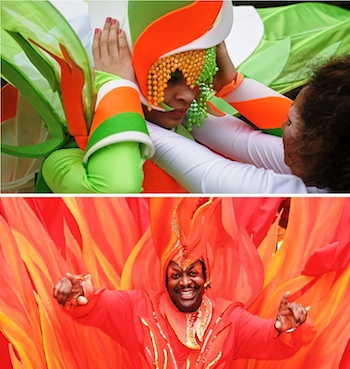 Photo Caption: Notting Hill Carnival of the UK getting ready for the coming Carnival in Seychelles