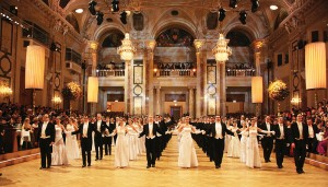 Attend a black tie ball in Vienna with Back-Roads