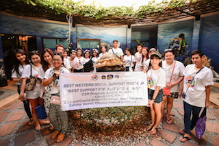 BWI Asia & Middle East Team Members_Navy's Sea Turtle Conservation Center