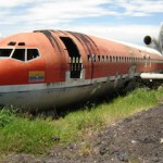 Boeing 727 hotel as found