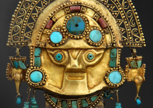 Exhibit from Gold of the Incas in Peru