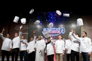 HE Sheikh Sultan Bin Tahnoon Al Nahyan welcomed nine of the event's star-studded masterchefs