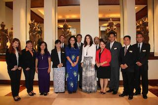 HRH Crown Princess of Denmark & Her delegations at CHRY