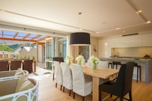 Interior of the latest show home at five-star Millbrook Resort