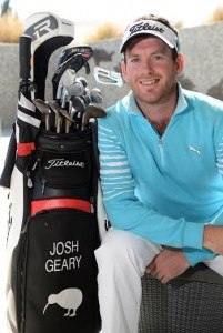 Josh Geary is hoping to breakthrough and win the NZ Open.
