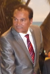 Karl Mootoosamy, CEO of the MTPA of Mauritius