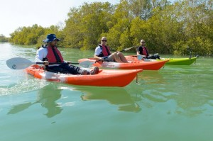 Kayaking in Abu Dhabi's Eastern Mangroves - Ghassan Al Hashemi, Ian Walk