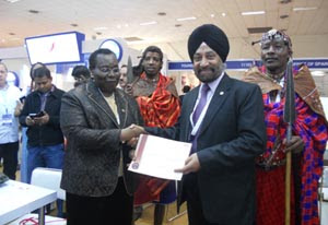 Magical Kenya Expert certificate given to Travel Trade