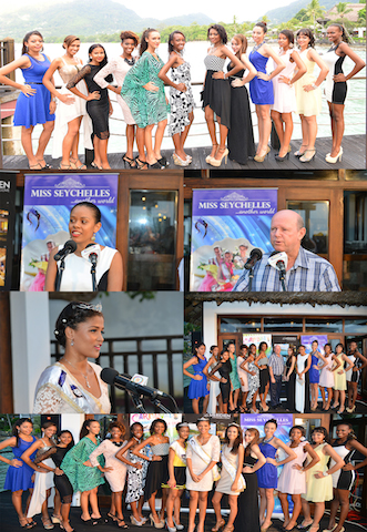 Miss Seychelles 2014 Inaurugal Coctail