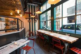 Motorino's new Ship St location is bright and spacious