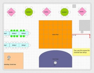 PLANNING POD SEATING CHART
