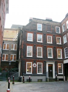 THE home in which Dr Johnson and his team wrote A Dictionary of the English    Language over eight years; it is now a museum. (British Tourist Authority)