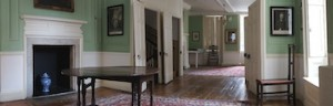 PART of the interior of Samuel Johnson's home, as austere today as it was in his    time. (British Tourist Authority)