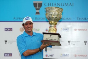 Scott Hend was ranked number one in driving distance on the 2013 Asian Tour (image courtesy of Asian Tour)