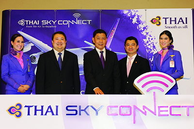 TG023-Photo News THAI Sky Connect Service Officially Launches