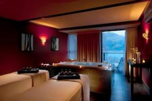 The Presidential Room at Hilton Queenstown Resort & Spa's eforea- spa