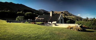The stunning Amisfield Winery & Bistro overlooking Lake Hayes, Queenstown