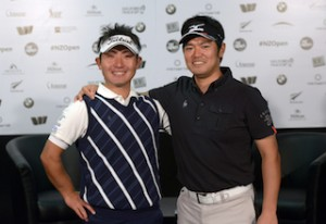 Yuki Kono and Toshinori Muto are excited to be playing the NZ Open in Queenstown.
