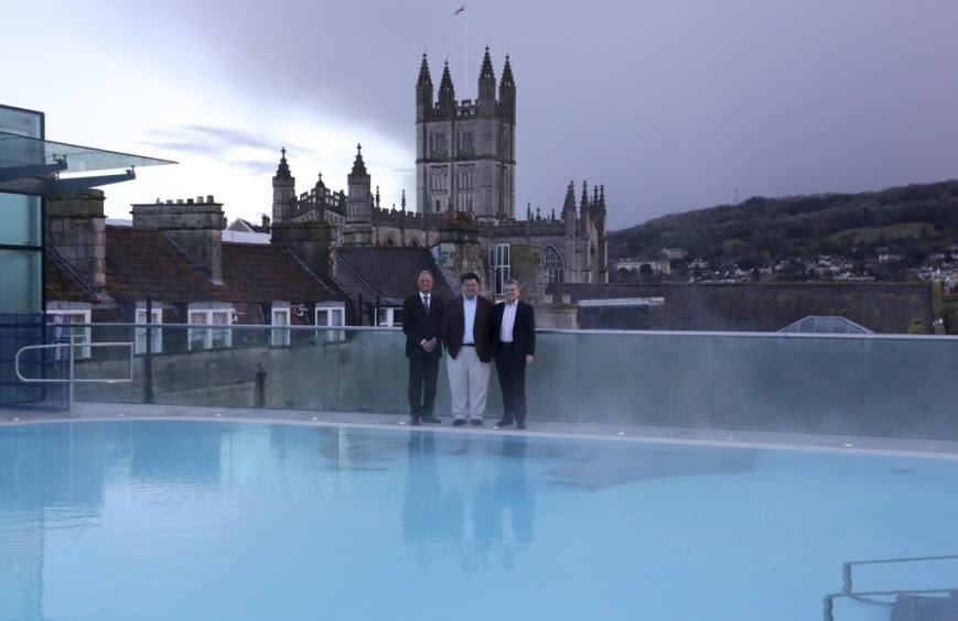 Handover of Thermae Bath Spa to YTL Hotels successfully completed
