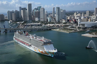 Accommodating 4,000 passengers, ship is the largest to homeport at PortMiami