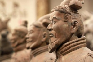 A Chinese must-see ... the Terracotta Warriors at Xian.