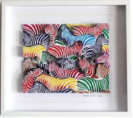 3D Zebra Exhibition at Wine Pub