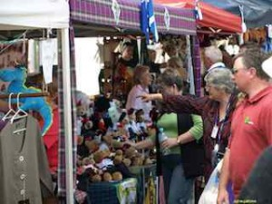 STALLS a-plenty with all things Scottish in souvenirs and food. (Tourism Southern Highlands)