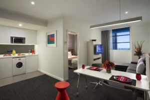 Citadines St Georges Terrace Perth - one-bedroom deluxe