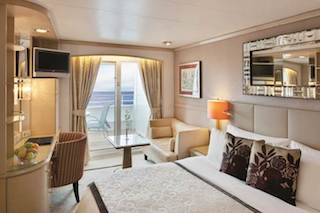 Crystal Symphony – Deluxe Stateroom with Verandah