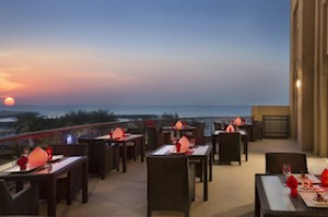 Dragon's Place Terrace at The Ajman Palace