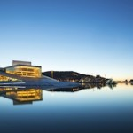The Oslo Opera House, one of the most famous landmarks in the city. The roof of the building angles to ground level creating a large plaza inviting pedestrians to walk up and enjoy the panoramic views of Oslo. Emirates will begin services to Oslo on 2nd September.