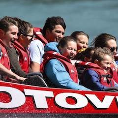 Families have more fun with the new Shotover Jet family pass