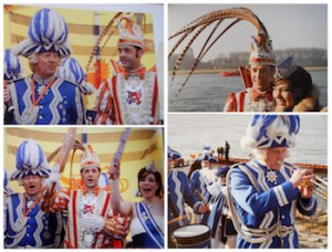 Some members of the Düsseldorf carnival travelling to Seychelles