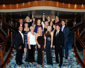Queen Mary 2 agent famil group March 2014