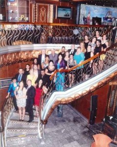 Travel agents onboard Carnival Spirit for a recent seminar at sea.
